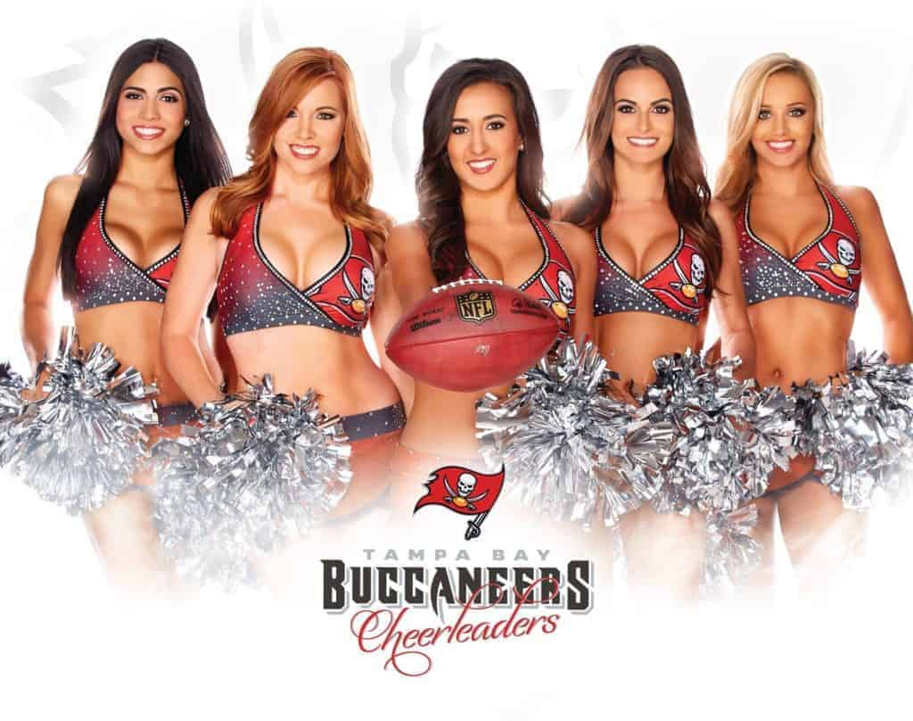 Hair and Makeup by Nereida Tampa Bay Buccaneers Cheerleaders