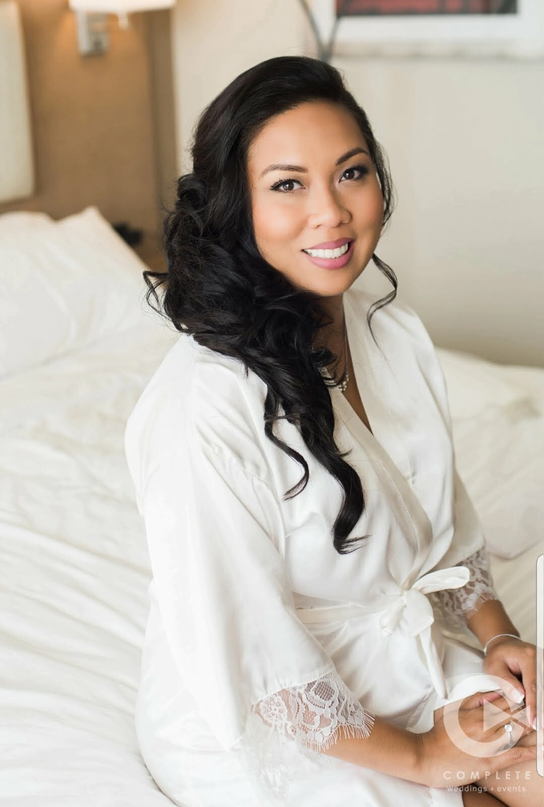 Hair and Makeup by Nereida Bride Five