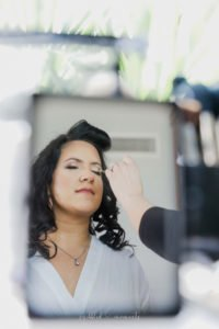 Hair and Makeup by Nereida Bride Six