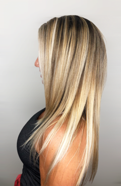 Hair and Makeup by Nereida Highlights and Coloring Image
